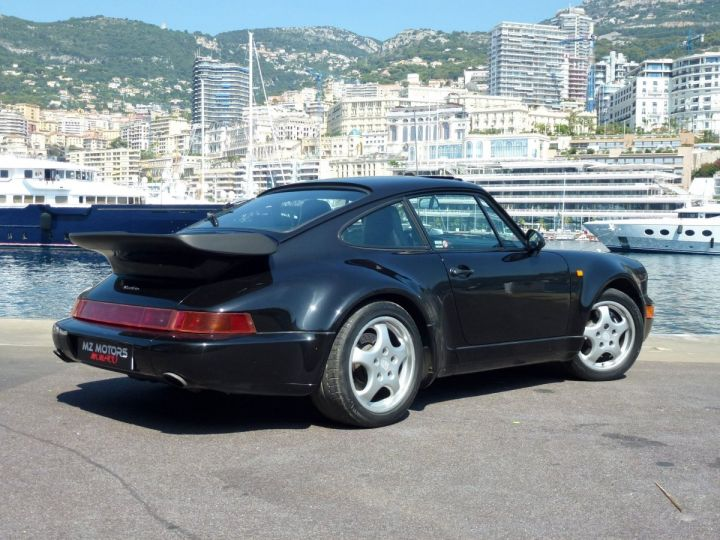 Porsche 911 965 TURBO 3.3 Noir Metal Occasion - 9