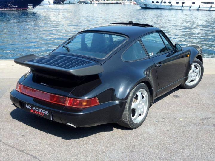 Porsche 911 965 TURBO 3.3 Noir Metal Occasion - 10