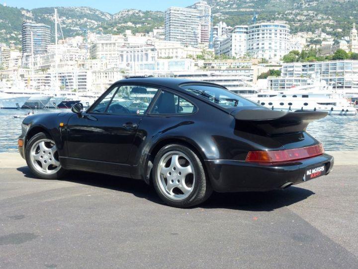 Porsche 911 965 TURBO 3.3 Noir Metal Occasion - 13
