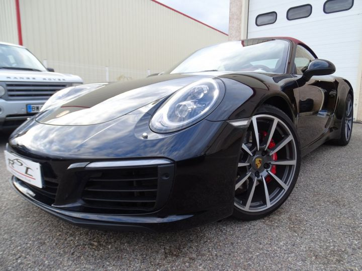 Porsche 911 991 2S Cabriolet MK2 420ps PDK/ VNeuve 149.000e XLF Chrono BOSE S.Sports + ventiles ..... noir metallisé - 1