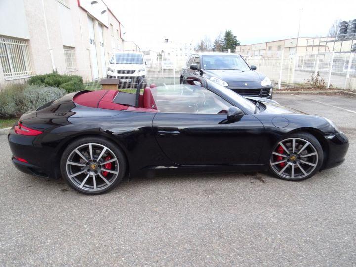 Porsche 911 991 2S Cabriolet MK2 420ps PDK/ VNeuve 149.000e XLF Chrono BOSE S.Sports + ventiles ..... noir metallisé - 3