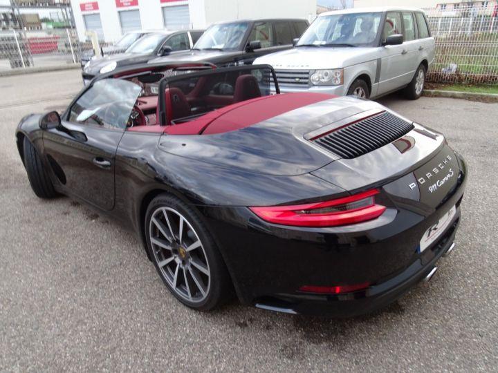 Porsche 911 991 2S Cabriolet MK2 420ps PDK/ VNeuve 149.000e XLF Chrono BOSE S.Sports + ventiles ..... noir metallisé - 6