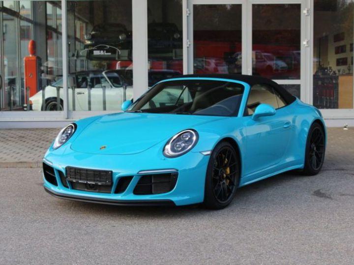 Porsche 911 991 3.0 450CH 4 GTS PDK BLEU Occasion - 1