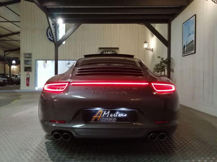 Porsche 911 991 3.8 400 CV CARRERA 4S PDK Gris - 4