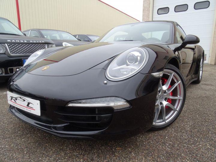 Porsche 911 991 4S PDK 3.8L 400PS/ Pack Chrono Régulateur de vitesse  S.sports noir metallisé - 1