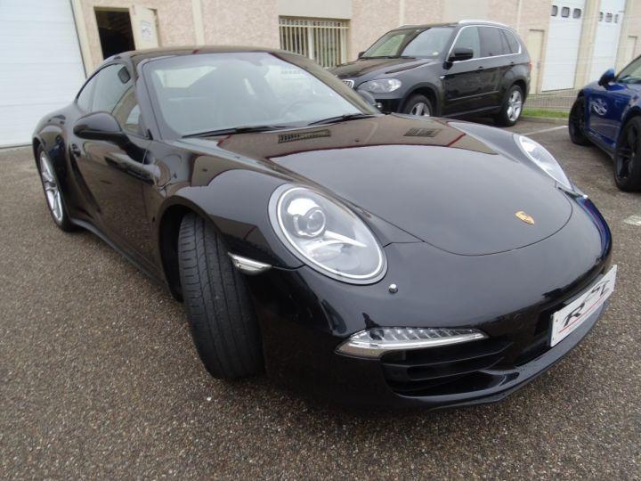 Porsche 911 991 4S PDK 3.8L 400PS/ Pack Chrono Régulateur de vitesse  S.sports noir metallisé - 3