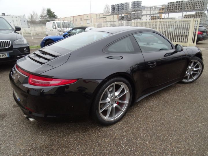 Porsche 911 991 4S PDK 3.8L 400PS/ Pack Chrono Régulateur de vitesse  S.sports noir metallisé - 4