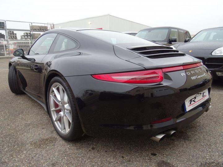 Porsche 911 991 4S PDK 3.8L 400PS/ Pack Chrono Régulateur de vitesse  S.sports noir metallisé - 5
