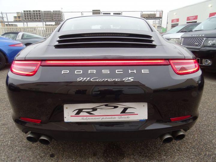 Porsche 911 991 4S PDK 3.8L 400PS/ Pack Chrono Régulateur de vitesse  S.sports noir metallisé - 7