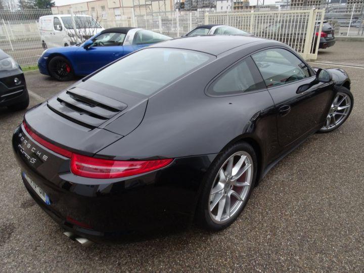 Porsche 911 991 4S PDK 3.8L 400PS/ Pack Chrono Régulateur de vitesse  S.sports noir metallisé - 9