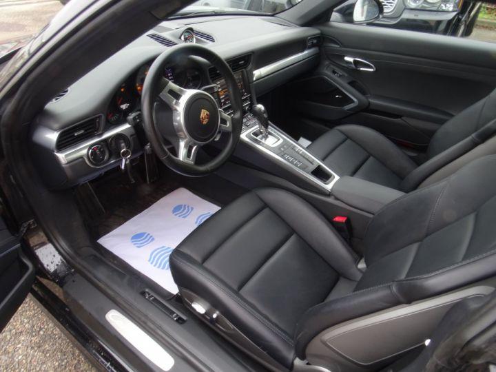 Porsche 911 991 4S PDK 3.8L 400PS/ Pack Chrono Régulateur de vitesse  S.sports noir metallisé - 10
