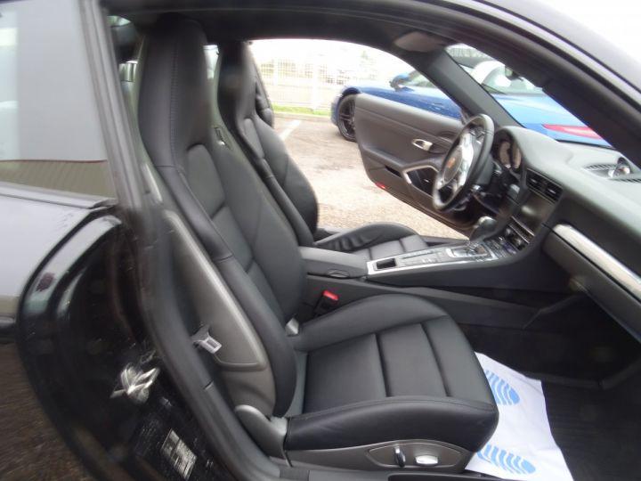 Porsche 911 991 4S PDK 3.8L 400PS/ Pack Chrono Régulateur de vitesse  S.sports noir metallisé - 11
