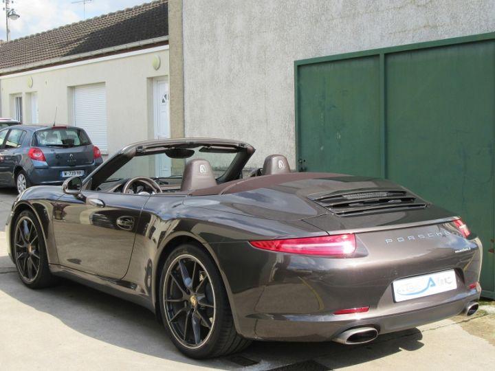 Porsche 911 991 CARRERA 3.4L 350CH PDK BRUN ANTHRACITE Occasion - 3
