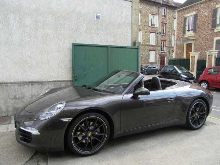 Porsche 911 991 CARRERA 3.4L 350CH PDK BRUN ANTHRACITE Occasion - 5