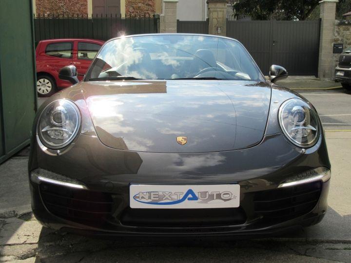 Porsche 911 991 CARRERA 3.4L 350CH PDK BRUN ANTHRACITE Occasion - 6