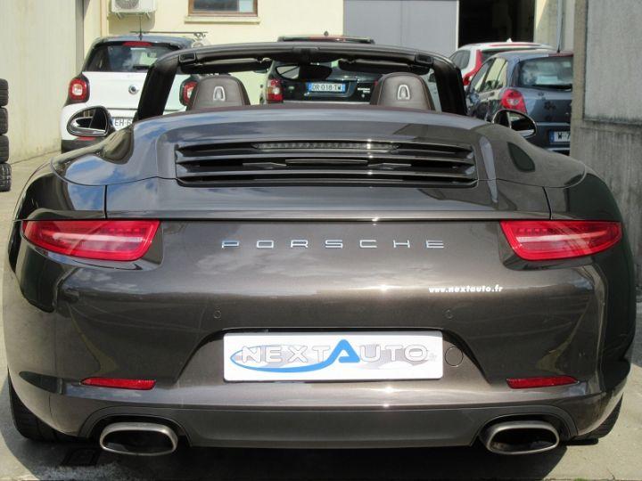 Porsche 911 991 CARRERA 3.4L 350CH PDK BRUN ANTHRACITE Occasion - 7