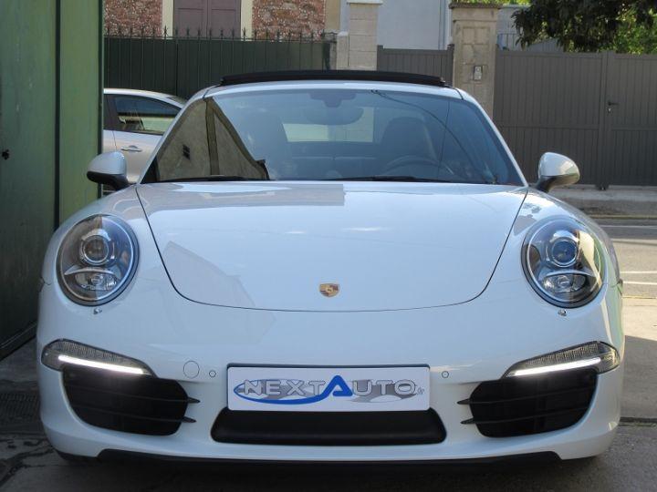 Porsche 911 991 CARRERA 3.4L 350CH PDK BLANC Occasion - 6