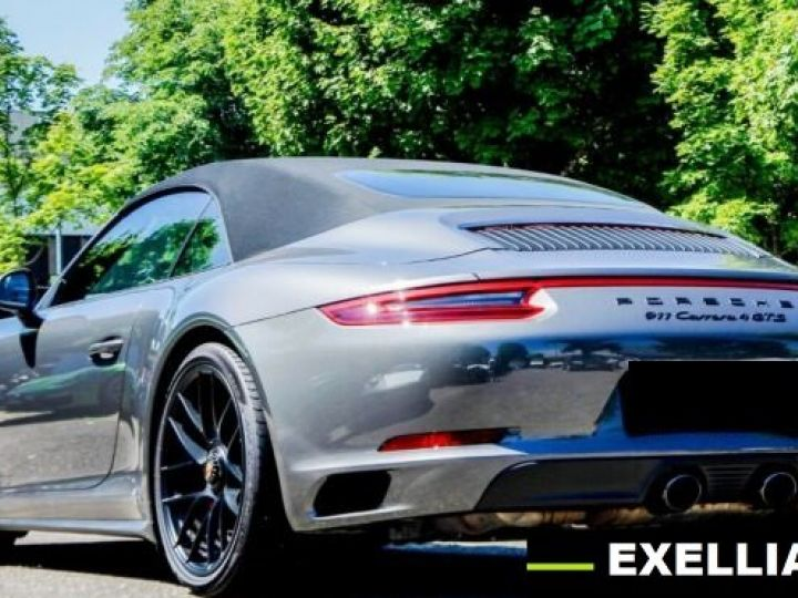 Porsche 911 991 CARRERA 4 GTS GRIS PEINTURE METALISE  Occasion - 2
