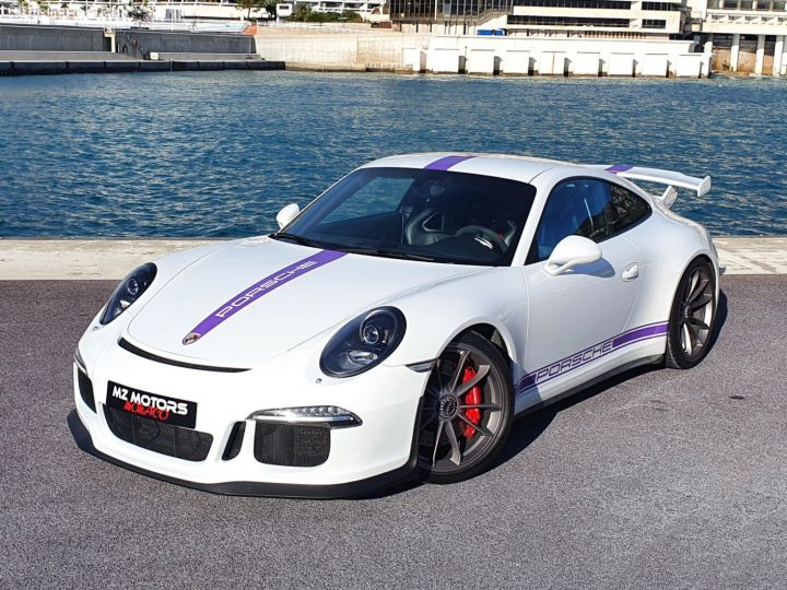 Porsche 911 991 GT3 476 CV PDK CLUBSPORT Blanc Occasion - 3