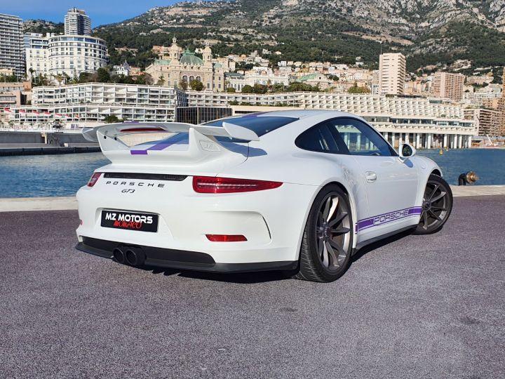 Porsche 911 991 GT3 476 CV PDK CLUBSPORT Blanc Occasion - 11