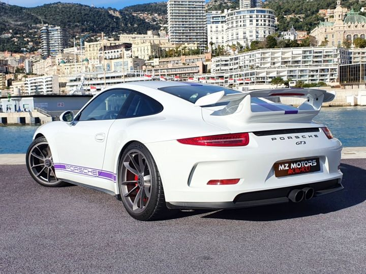 Porsche 911 991 GT3 476 CV PDK CLUBSPORT Blanc Occasion - 14