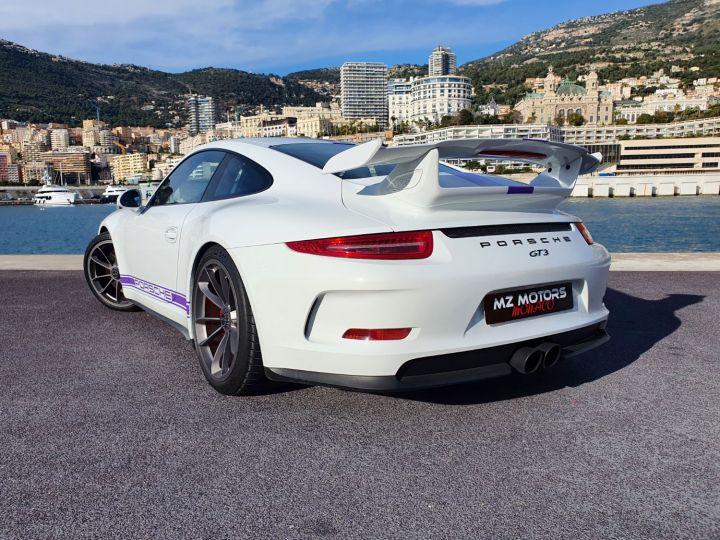 Porsche 911 991 GT3 476 CV PDK CLUBSPORT Blanc Occasion - 17