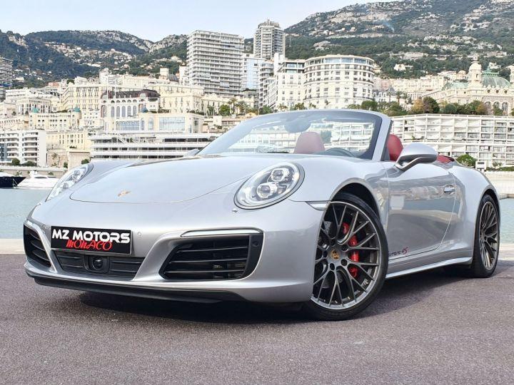 Porsche 911 991 II CABRIOLET 3.0 420 CARRERA 4S PDK Argent GT Vendu - 1