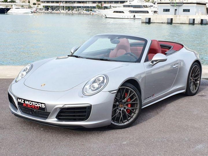Porsche 911 991 II CABRIOLET 3.0 420 CARRERA 4S PDK Argent GT Vendu - 3