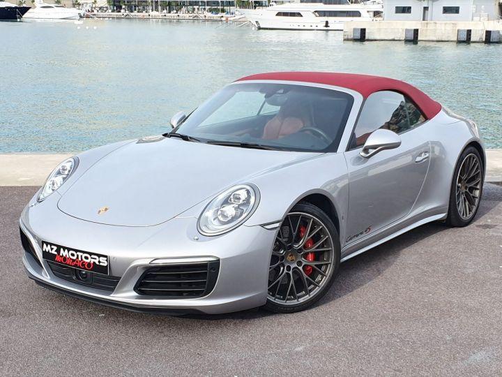 Porsche 911 991 II CABRIOLET 3.0 420 CARRERA 4S PDK Argent GT Vendu - 4