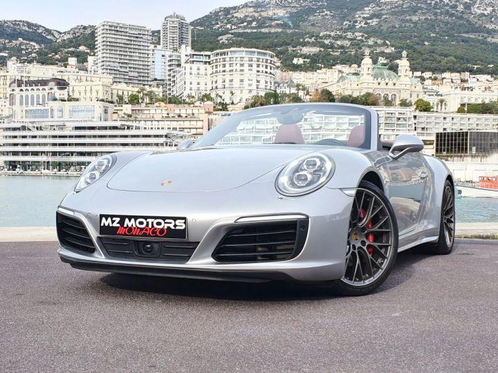 Porsche 911 991 II CABRIOLET 3.0 420 CARRERA 4S PDK Argent GT Vendu - 5
