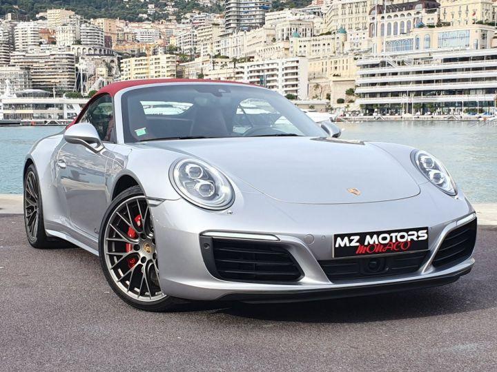 Porsche 911 991 II CABRIOLET 3.0 420 CARRERA 4S PDK Argent GT Vendu - 6