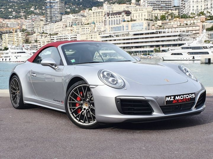 Porsche 911 991 II CABRIOLET 3.0 420 CARRERA 4S PDK Argent GT Vendu - 7