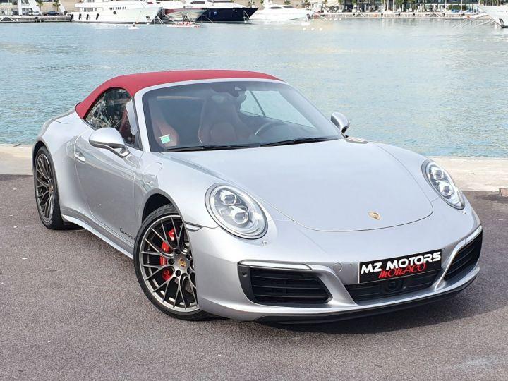 Porsche 911 991 II CABRIOLET 3.0 420 CARRERA 4S PDK Argent GT Vendu - 8