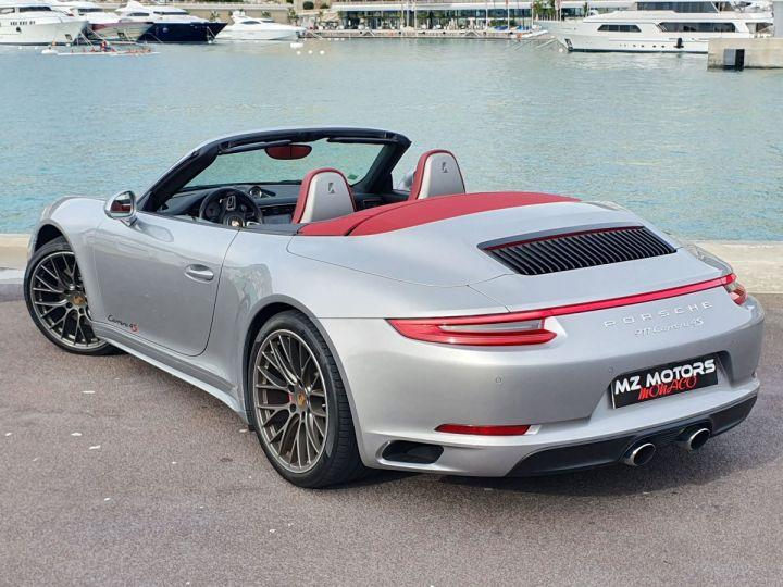 Porsche 911 991 II CABRIOLET 3.0 420 CARRERA 4S PDK Argent GT Vendu - 9