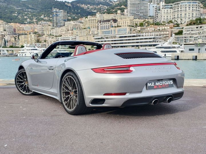 Porsche 911 991 II CABRIOLET 3.0 420 CARRERA 4S PDK Argent GT Vendu - 10