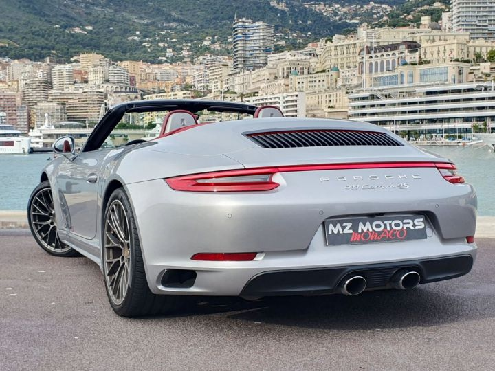 Porsche 911 991 II CABRIOLET 3.0 420 CARRERA 4S PDK Argent GT Vendu - 11