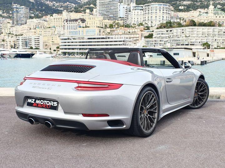 Porsche 911 991 II CABRIOLET 3.0 420 CARRERA 4S PDK Argent GT Vendu - 12