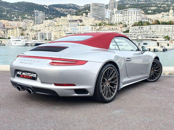Porsche 911 991 II CABRIOLET 3.0 420 CARRERA 4S PDK Argent GT Vendu - 13
