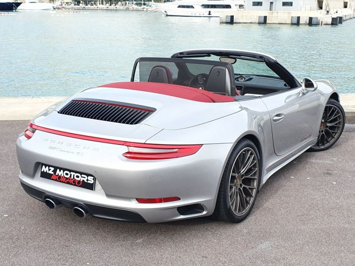 Porsche 911 991 II CABRIOLET 3.0 420 CARRERA 4S PDK Argent GT Vendu - 14