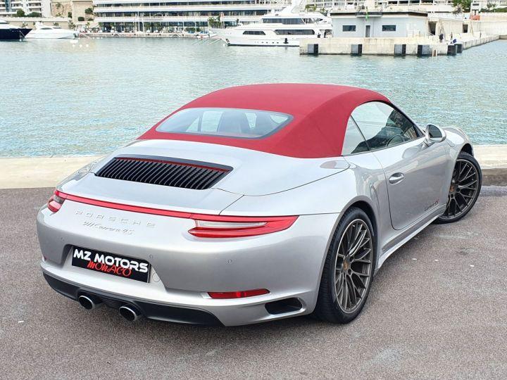 Porsche 911 991 II CABRIOLET 3.0 420 CARRERA 4S PDK Argent GT Vendu - 15