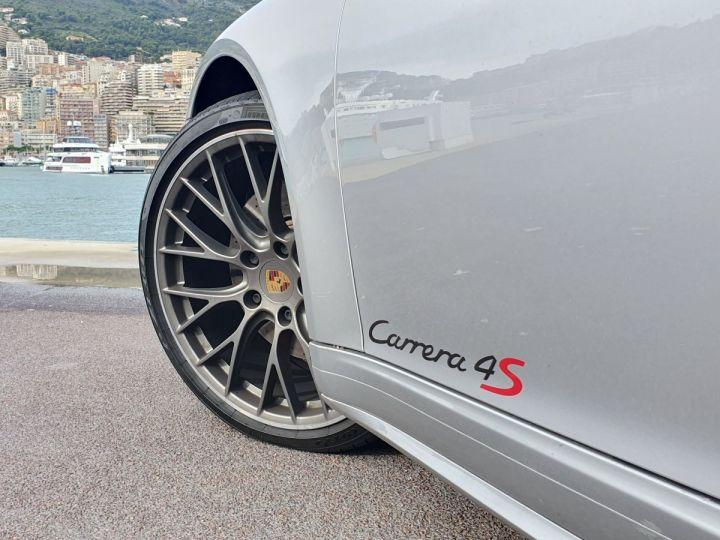 Porsche 911 991 II CABRIOLET 3.0 420 CARRERA 4S PDK Argent GT Vendu - 16