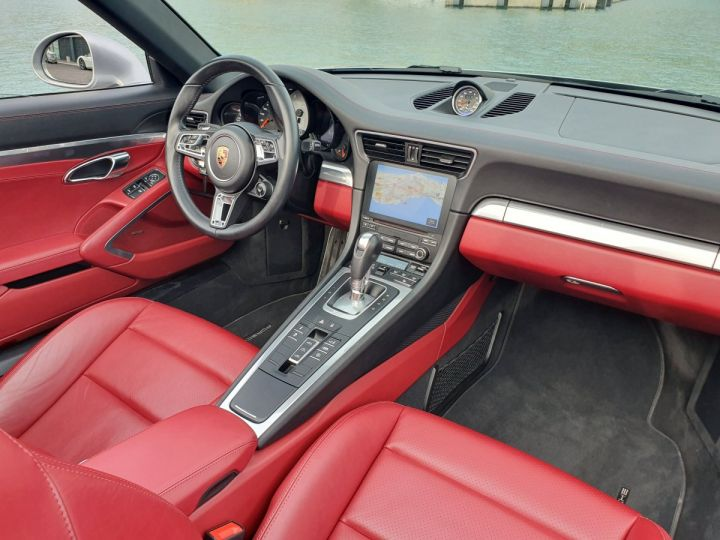 Porsche 911 991 II CABRIOLET 3.0 420 CARRERA 4S PDK Argent GT Vendu - 21