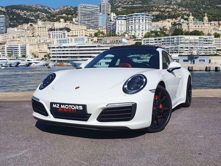 Porsche 911 991 II CARRERA 4S COUPE 3.0 420 CV PDK Blanc Vendu - 2