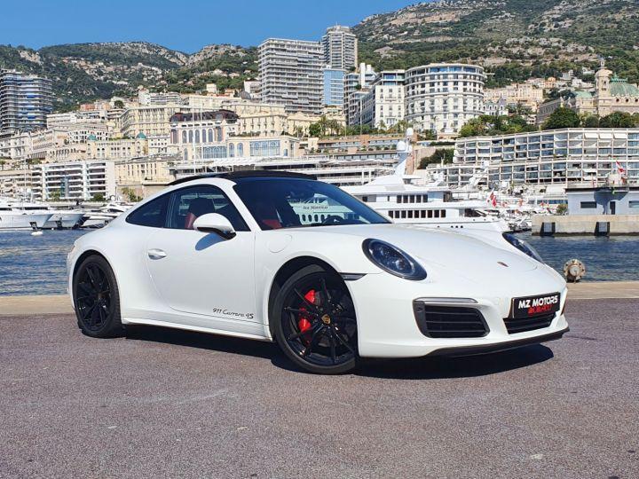 Porsche 911 991 II CARRERA 4S COUPE 3.0 420 CV PDK Blanc Vendu - 4