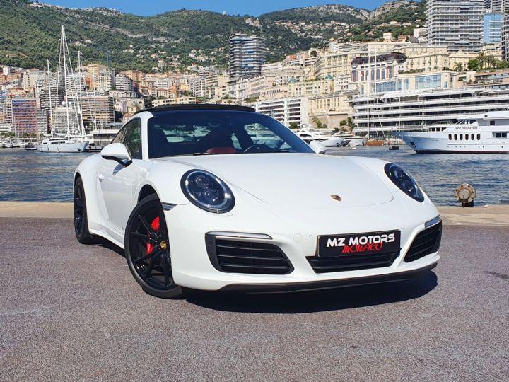 Porsche 911 991 II CARRERA 4S COUPE 3.0 420 CV PDK Blanc Vendu - 5