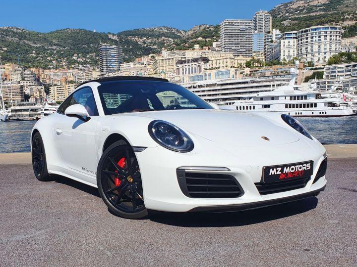 Porsche 911 991 II CARRERA 4S COUPE 3.0 420 CV PDK Blanc Vendu - 6