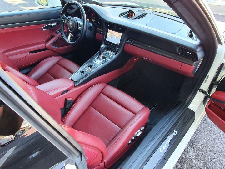 Porsche 911 991 II CARRERA 4S COUPE 3.0 420 CV PDK Blanc Vendu - 17