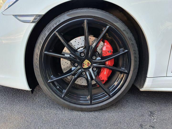 Porsche 911 991 II CARRERA 4S COUPE 3.0 420 CV PDK Blanc Vendu - 14