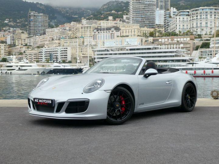 Porsche 911 991 II GTS CABRIOLET 3.0 450 CV PDK Argent Occasion - 1
