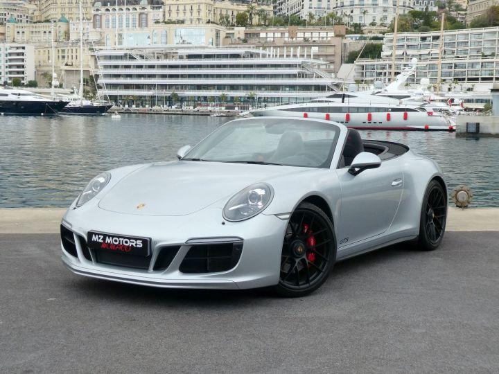 Porsche 911 991 II GTS CABRIOLET 3.0 450 CV PDK Argent Occasion - 2